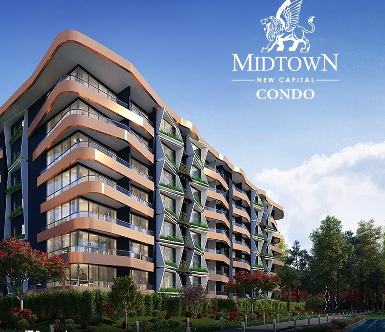 New Apartments And Condos Near Me: Apartment For Sale In MidTown Condo, New Capital